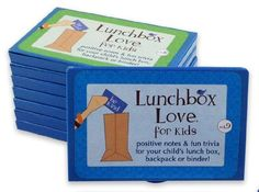 Lunchbox Love Notes for Kids by Say Please. 96 positive lunch notes and fun…