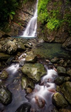 La Mina Falls, Puerto Rico  by Ted Gore, via 500px