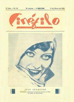 Cinéfilo, March 1930 - cover by Gatochy, via Flickr
