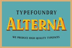 Kertayasa Layered Typeface 50% OFF by Alterna Typefoundry on @creativemarket