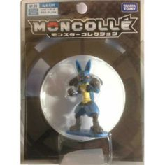 Pokemon 2014 Lucario Moncolle Super Size Monster Collection Plastic Figure SP-20