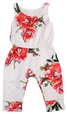 6f9921d172551 SHOP Our Floral Sleeveless Jumpsuit for Baby Girls