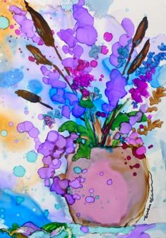 alcohol ink | ... to paint with alcohol ink contact wendy at coloradawendy @ gmail com