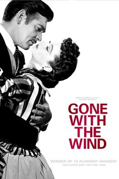 """ Gone with the Wind"" (1939) Directed by Victor Fleming. Starring: Clark Gable, Vivien Leigh, Leslie Howard, Olivia de Havilland. It's an epic historical romance film. It's about the life and love of a young woman, Scarlett O'Hara, during the American Civil War and Reconstruction era. Recommended age - 12+"