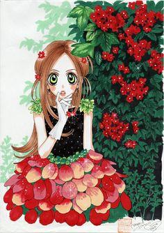 Moyoco Anno Manga Girl, Anime Manga, Anime Art, Manga Artist, Manga Illustration, I Love Anime, Magical Girl, Runes, Art Girl