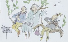 Illustration at its best is a bridge, not a barrier, to the realm of reading, argues Quentin Blake during a talk at Hay Festival 2013. Description from telegraph.co.uk. I searched for this on bing.com/images