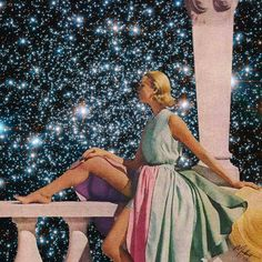 """926 Likes, 17 Comments - collage ♡ ᴉuᴉʇʇnq ǝuᴉɐlǝpɐɯ (@madbutt) on Instagram: """"✨ I once looked out across the universe and thought I saw stars... but in fact I saw my own…"""""""