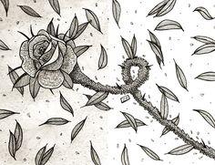 www.lucas2d.com #sketch #sketchbook #draw #drawing #ink #illustration #pattern #doodle #flower #flowers #flor #flores #leaf #leaves #nature #wind #folha #folhas #natural #artwork #beautiful #wall #plant #plants #love #fun #graphic #design #desenho #art
