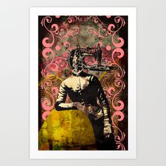 Sewing Art Print by jnk2007 - $33.28