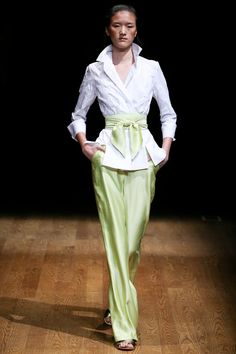 Josie Natori Spring 2015 Ready-to-Wear