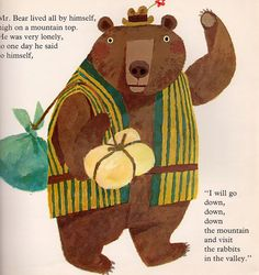 Helpful Mr. Bear - written by Chizuko Kuratomi, illustrated by Kozo Kakimoto (1966).