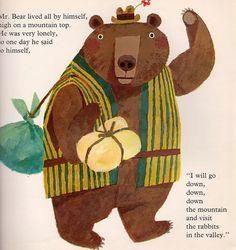 Helpful Mr. Bear - written by Chizuko Kuratomi, illustrated by Kozo Kakimoto (1966).
