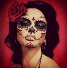 Dia de los Muertos...absolutely perfect.