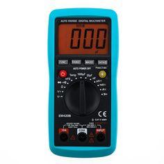 $58.50 (Buy here: https://alitems.com/g/1e8d114494ebda23ff8b16525dc3e8/?i=5&ulp=https%3A%2F%2Fwww.aliexpress.com%2Fitem%2FEM420B-Free-shipping-measuring-current-with-AC-DC-clamp-digital-multimeter%2F2029989890.html ) All-Sun EM420B Digital Multimeter Continuity Diode Transistor Battery Tester Measuring Current With AC/DC Multimeter for just $58.50
