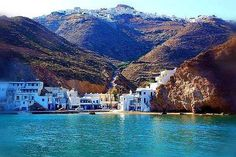 I think I have dreamed of this place - anafi cyclades