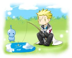 Fishing by カスガ- Final Fantasy VII - PuPu / Seifer - http://www.pixiv.net/member.php?id=3474719