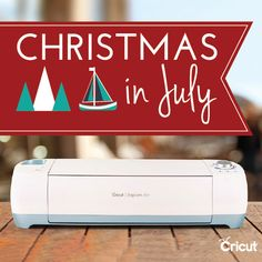 Through July 19! Get a head start on the holidays with Cricut's Christmas in July http://www.masterprocraftinator.com/cricut-christmas-in-july/?utm_campaign=coschedule&utm_source=pinterest&utm_medium=Master%20Procraftinator&utm_content=Get%20a%20head%20start%20on%20the%20holidays%20with%20Cricut%27s%20Christmas%20in%20July