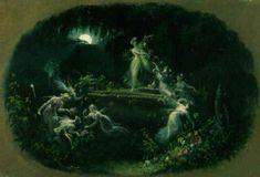 A midnight reverie by Edmond Thomas Parris
