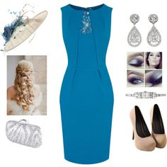Royal Event by teodoramaria98 on Polyvore featuring Oasis, Swarovski and JANE TAYLOR MILLINERY