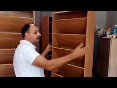 Cmo hacer un Zapatero Banco Fcil (plano incluido) Closet Organization, Ideas Para, Bookcase, Crafts, Handmade, Home Decor, Closets, Ideas, Make A Closet