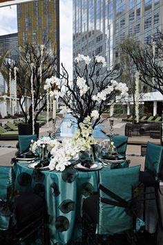 Gorgeous blue themed wedding