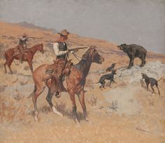 His Last Stand is a painting by Frederic Remington from the Sid Richardson Fort Worth Art Museum which features oil and watercolor paintings by Frederic Remington, Charles Russell and other western artists. Frederic Remington, Cowboy Art, Western Cowboy, Native American Art, American Artists, Southwestern Art, West Art, Le Far West, Canvas Art Prints
