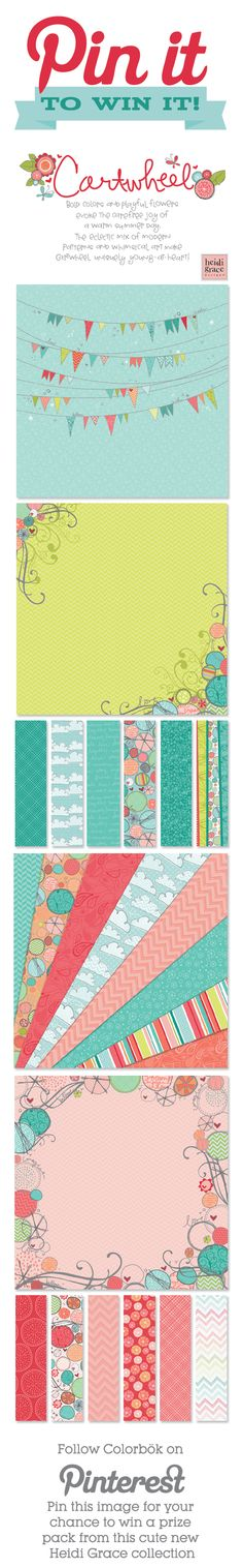 Colorbök Heidi Grace Cartwheel Collection, hoping it's coming to SA soon Baby Scrapbook, Scrapbook Paper Crafts, Scrapbook Cards, Cartwheel, Scripture Cards, Joann Fabrics, Card Sketches, Cool Cards, Pattern Paper