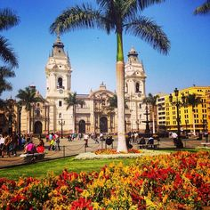 Colorful downtown #Lima  #Peru #doyoutravel