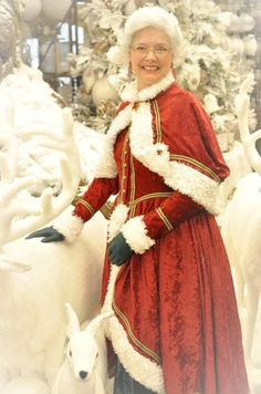 Mrs Santa Claus Costume, Mrs Claus Outfit, Mrs Claus Dress, Office Christmas Party, Christmas Meals, Santa Suits, Renaissance Fair, Santa Baby, Papa Noel
