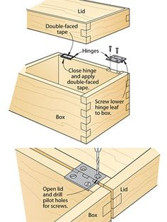 Attaching hinges, driving threaded inserts and other installation tricks you can accomplish like a professional woodworker.