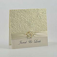 embossed diy wedding invitation …   pinteres…, Wedding invitations
