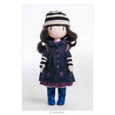 This sweet little doll will steal your heart! Beautiful doll with flowing hair, delicate hands and intoed stance.