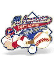 Baseball Trading Pins w/7 FREE Colors & No Setup Charge | Lapel Pins R Us