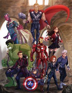 Thanos Avengers, Avengers Cartoon, Avengers Art, Marvel Avengers Movies, Marvel Fan Art, Marvel Films, Marvel Memes, Marvel Dc Comics, Marvel Characters