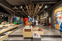 Puma store by Plajer & Franz Studio, Amsterdam