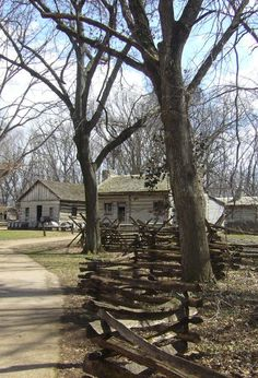 Lincoln's New Salem Historic Site in Illinois