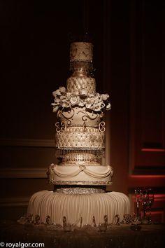 wow, royal, grand, wedding cake,