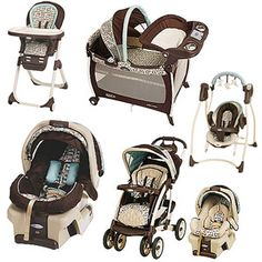 Graco - Carlisle Collection Bundle ($235.00 for the Travel System)
