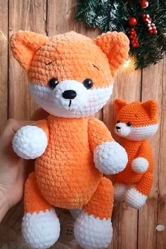 Crochet Patterns For Beginners, Crochet Patterns Amigurumi, Easy Crochet Patterns, Free Crochet, Knitting Patterns, Crochet Fox Pattern Free, Knitting Beginners, Beginner Crochet, Plush Pattern