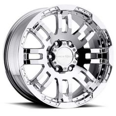 Introducing Vision 375 Warrior Phantom Chrome Wheel with Chrome Finish 16x655x130mm. Get Your Car Parts Here and follow us for more updates!