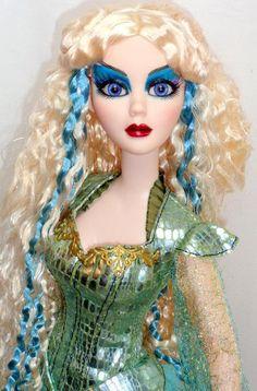 Dark Seas Evangeline Ghastly Mermaid Doll 2013 Wilde Halloween Convention LE150 | eBay
