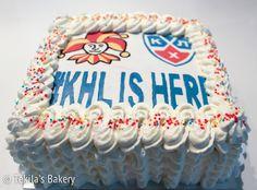 #KHLISHERE and Jokerit cake with cream