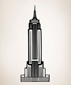 Make City, New York, Empire State Building Cut Out
