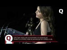 La reconocida actriz juvenil, Sofía Castro, recibe el reconocimiento a la excelencia de Revista Q por su trayectoria y esfuerzo como actriz juvenil.