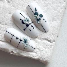 Wow love these acrylic nail art - Red Unicorn