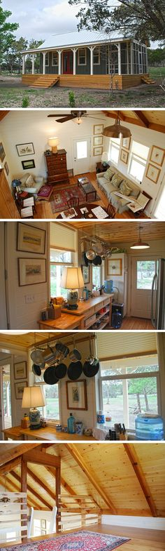 The 480 sq ft Kanga Cottage Cabin