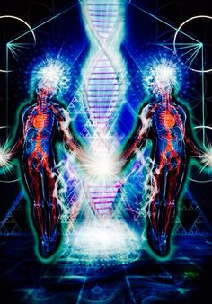 What Happens In Meditations After Kundalini And Third Eye Activation - Conscious Reminder Art Visionnaire, Psy Art, Mystique, Visionary Art, Psychedelic Art, Spiritual Awakening, Sacred Geometry, Oeuvre D'art, Twins