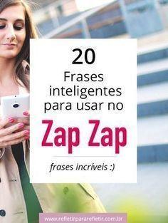 20 frases inteligentes e curtinhas para você usar no seu status do Whatsaap Dizem tudo em poucas palavras. #whatsapp #status