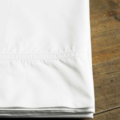 Classico pillowcases featuring a double cord motif.