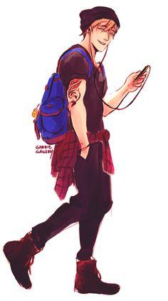 Hipster modern fashion Makoto